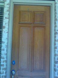 Door Before Refinishing