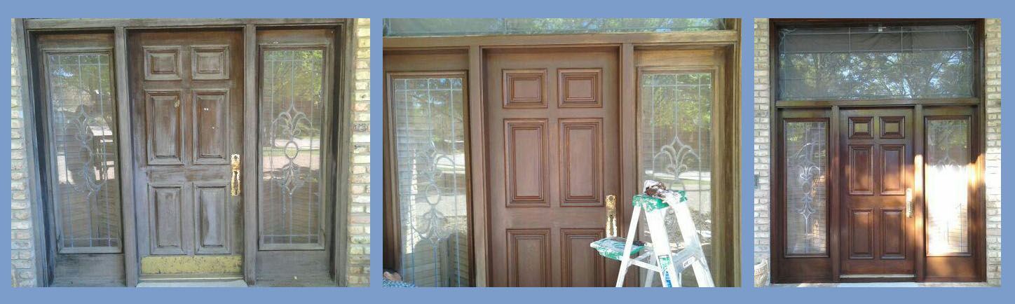 how to refinish front doorDoor Refinish  Door Refinishing  Front Door Staining  DFW Painting