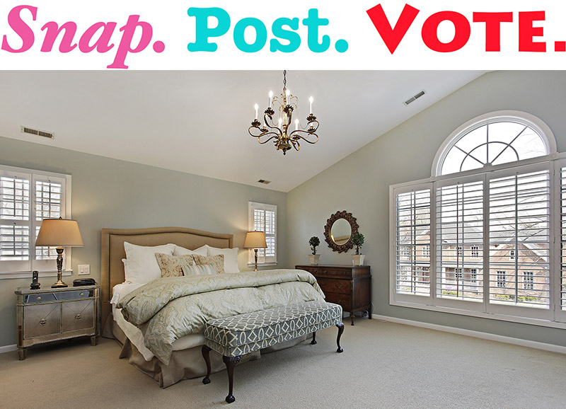 Snap. Post. Vote. . . for a Bedroom Repaint!