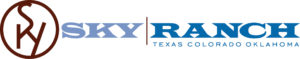logo for sky ranch christian camp texas