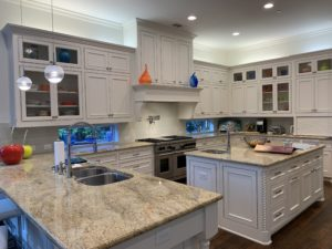 Kitchen cabinet refinishing in Dallas