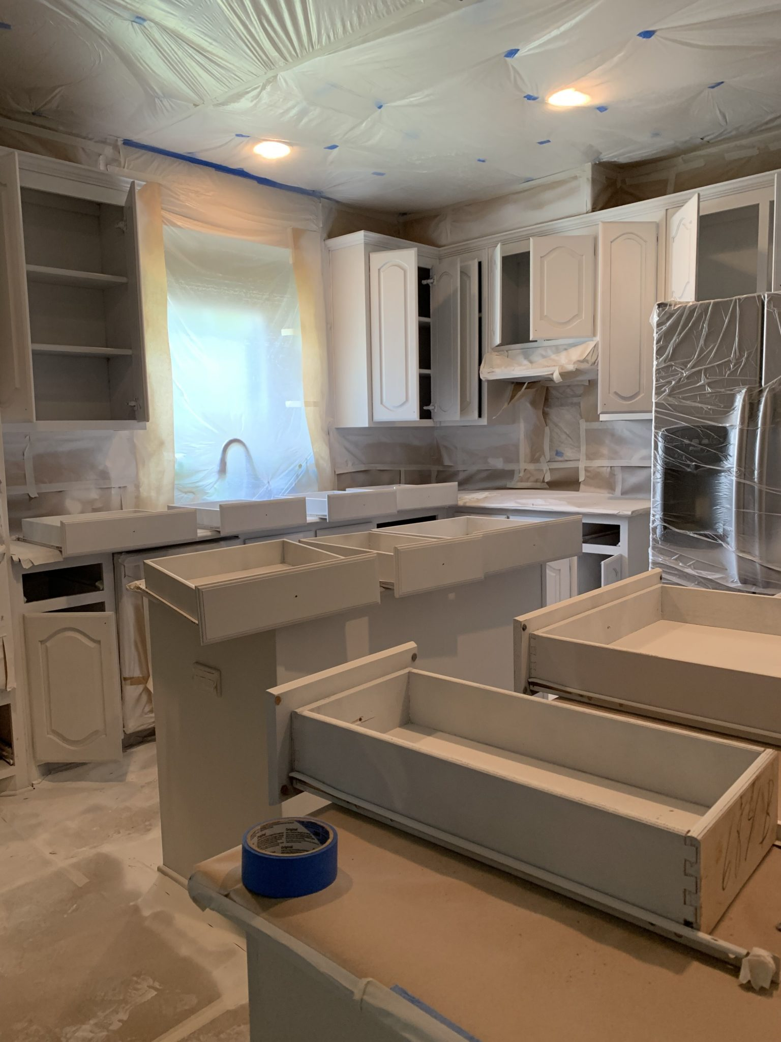 kitchen painting in dallas